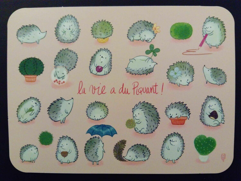 """""""La vie a du piquant"""" by © AUDREY BUSSI ( In original )"""