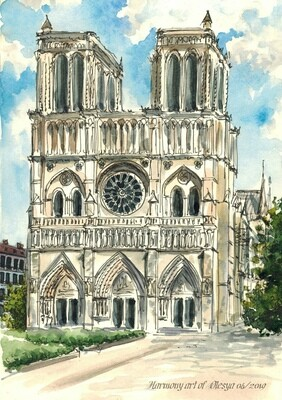 Notre Dame Cathedral​.  Собор ПАРИЖской Богоматери