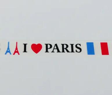 Masking tape - Thème Paris Декоративный скотч - Париж
