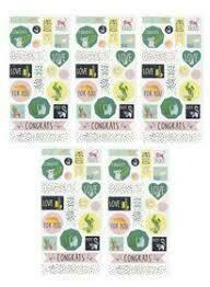 sticker sheet green