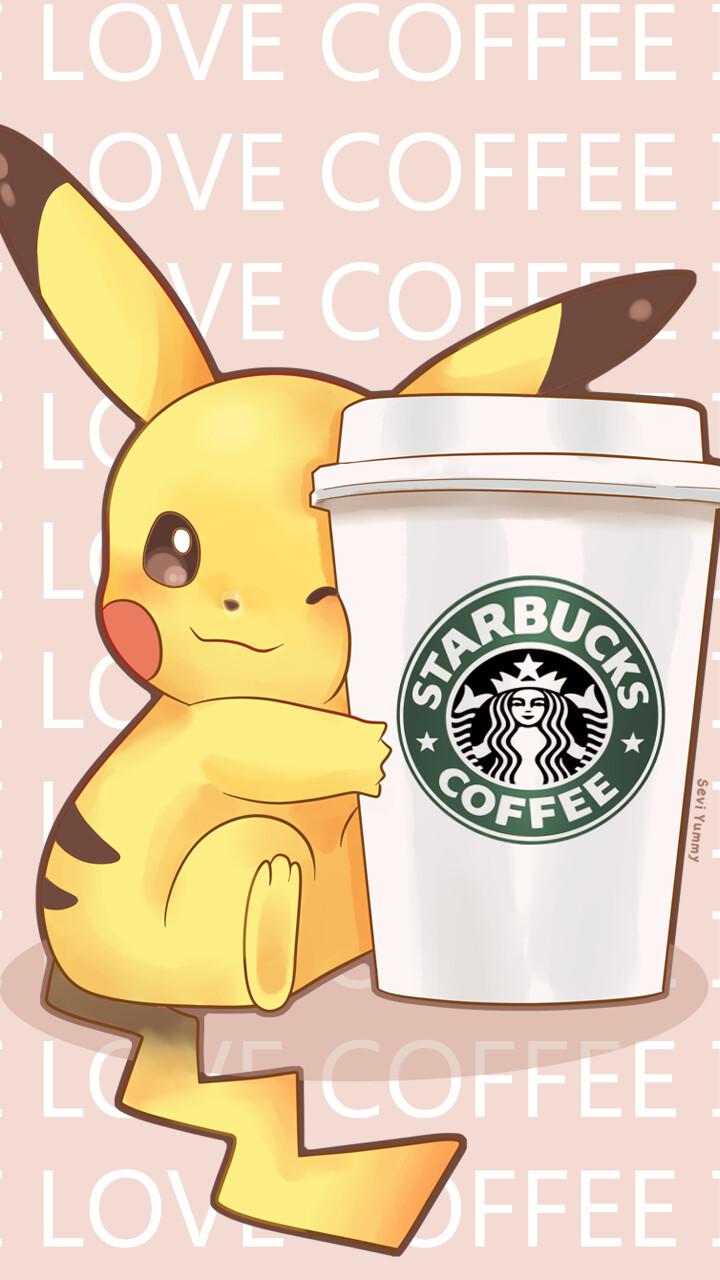 Starbucks coffee Pokemon