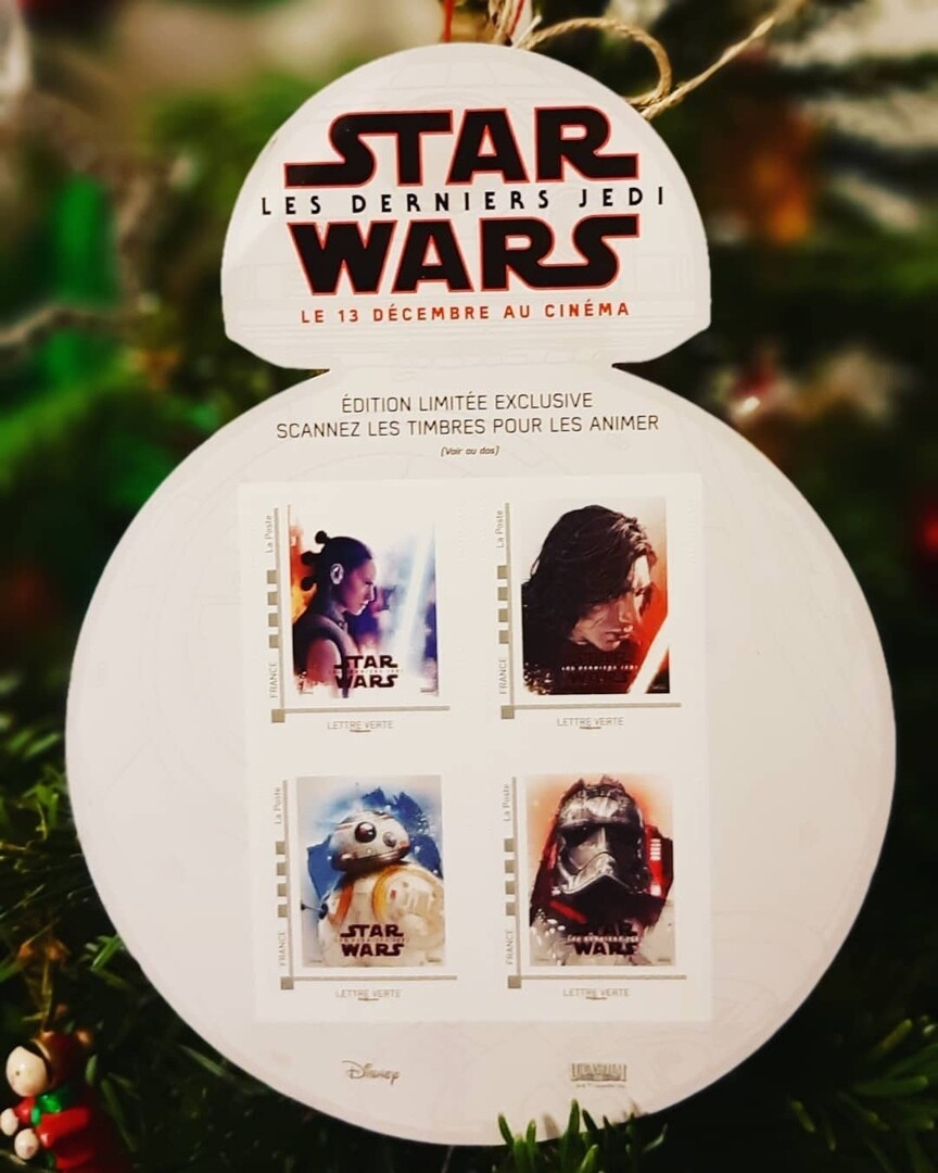 Stamp block Stars Wars