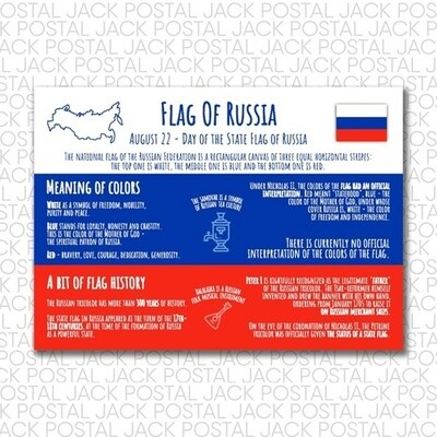 Flags of the countries of the world. Russia