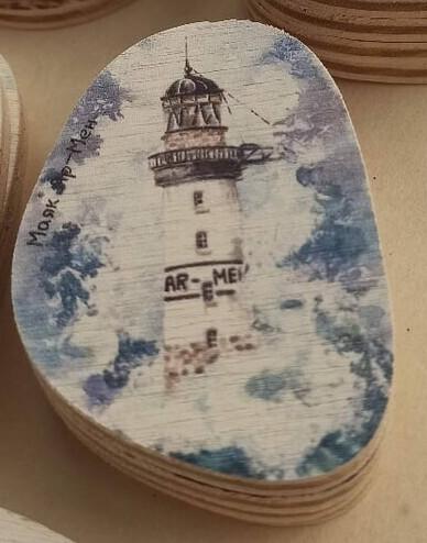 Magnet lighthouses Ar-Men . Маяк Ар-Мен.