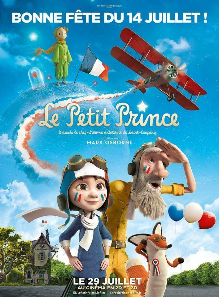 "The little Prince ""Маленький принц"" Экзюпери"