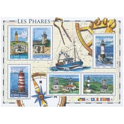 France - Blocs et feuillets - 2007  - Phares