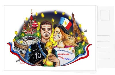 Горожанка - победа Франции на Чемпионате Мира по футболу 2018