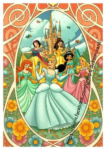 Disney, 6 princesses Disney
