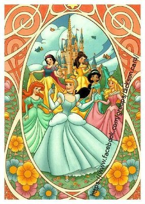Disney, 6 princesses Disney