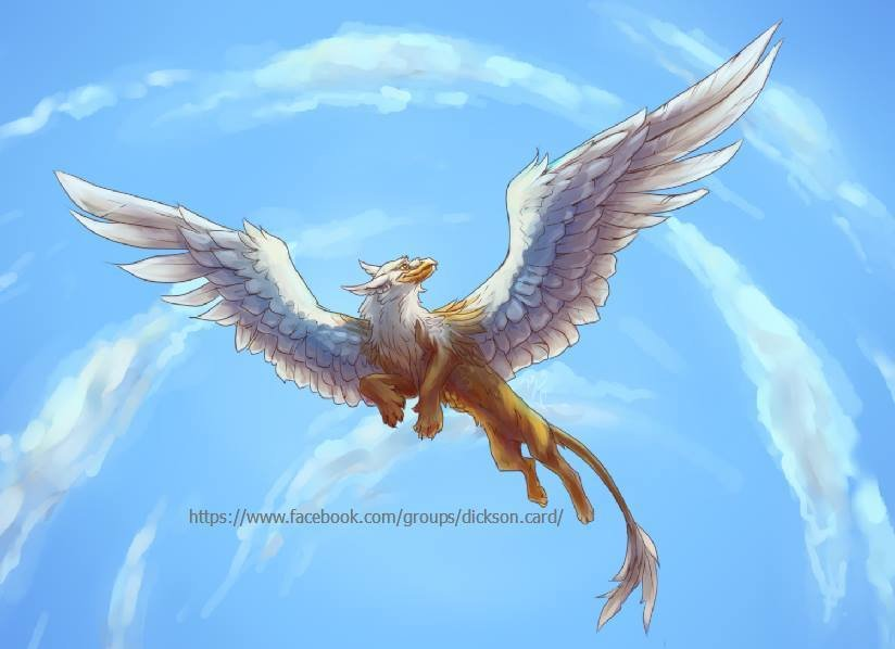 Flying beast from  © L. Niftalieva