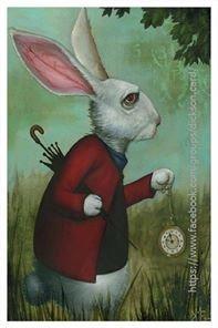 Rabbit, Alice in Wonderland.