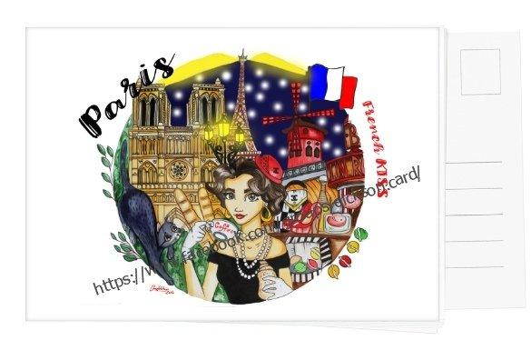 """Горожанка """"PARIS""""анка"""