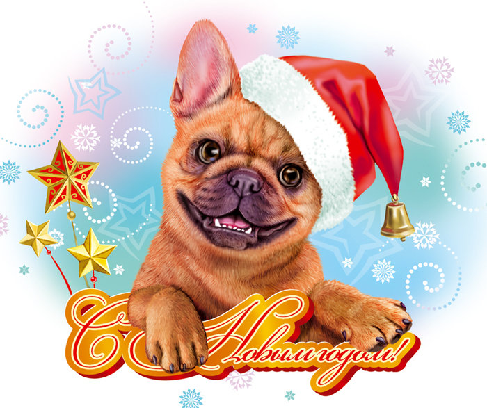 Postcard Christmas , New Year