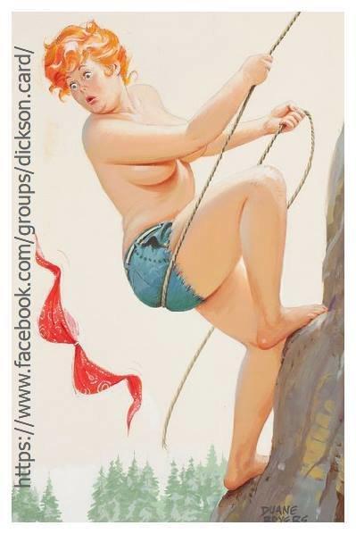 Hilda rock climber by © Duane Bryers