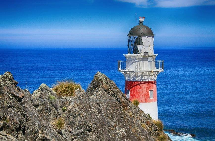 Lighthouse at the rock