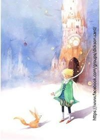 Llittle Prince at the castle