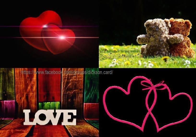 Saint Valentine Collage