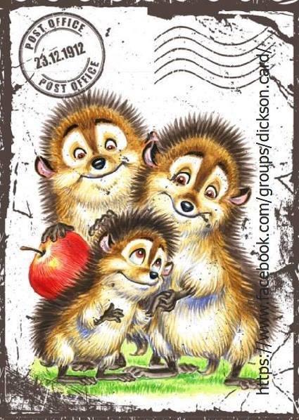 Post hedgehogs