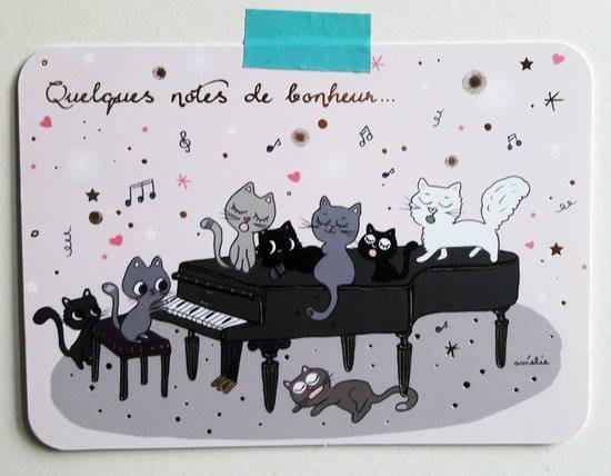 """ Quelques notes de bonheur...🎹 """