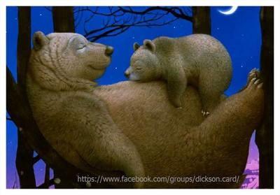 Bear on the belly of a bear