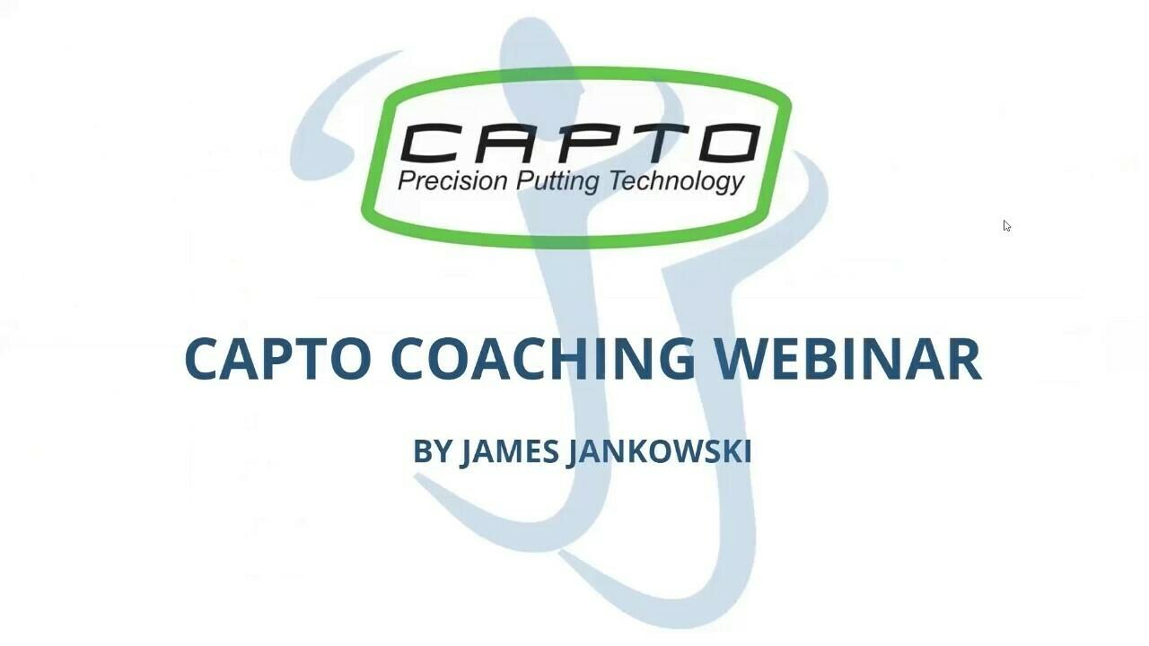 Webinar James Jankowski Capto expert coach