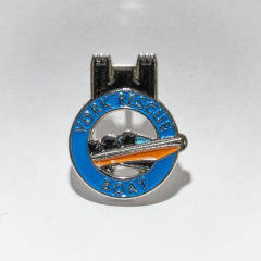York Rescue Boat Supporter Pin Badge