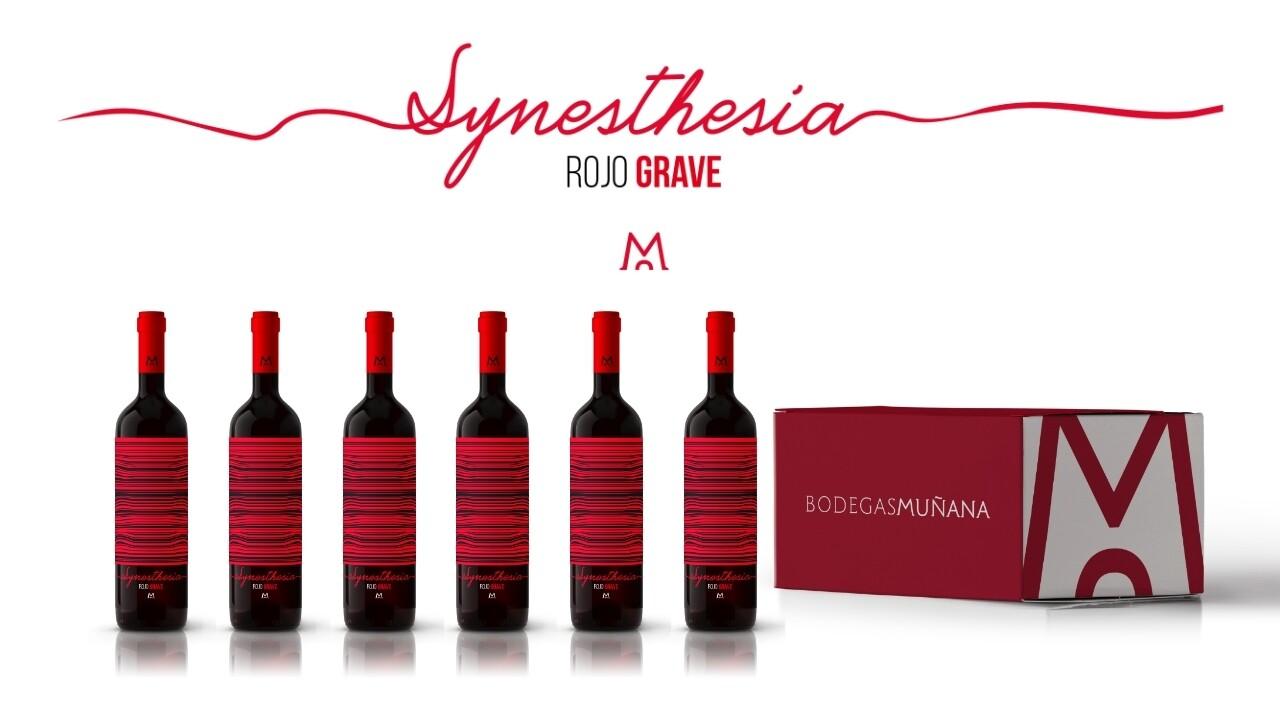 Synesthesia Rojo Grave 2018 Caja 6 Unidades