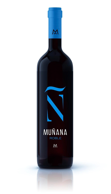 MUÑANA ROBLE BLUE 2018 750 ml