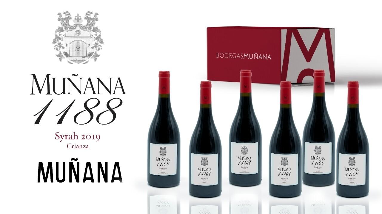 Caja 6 botellas 1188 Syrah 2018 D.O. Granada