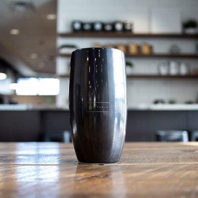 12 oz ceramic hand grip mug