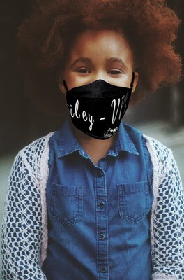 Kids Personalized Face Mask