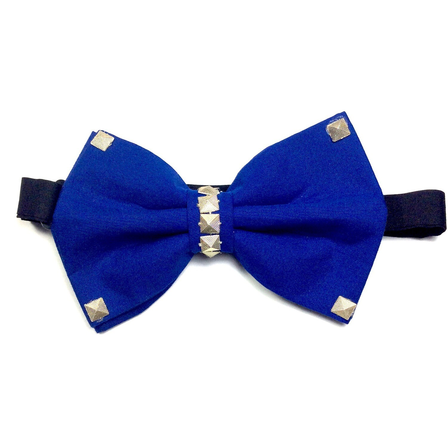 Royal Blue With Gold Bow Tie