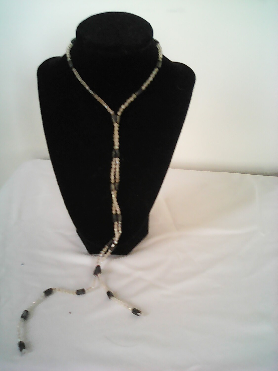 White & Black Magnetic Necklaces