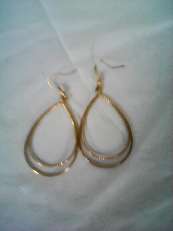 Gold Plate Earring