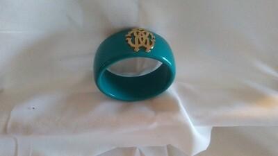 Green Bracelet  & Earring
