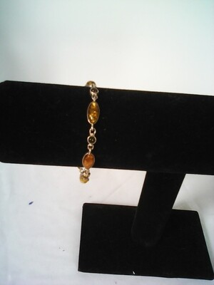 Amber Stones Bracelet