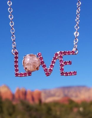 Sedona LOVE Power Vortex /White Light moonstone crystal Lightworker sale 233.00/$333