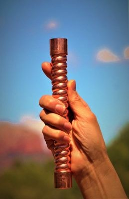 One Sedona Vortex Crystal Water Healing Wand~LightWorker Healers Sale $244.00/333.00
