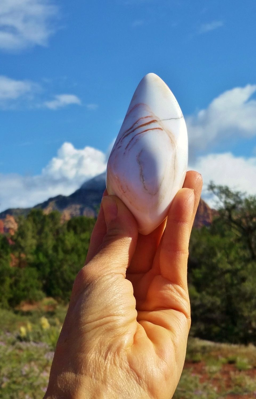 Sylph Fairy Angel White Light Crystal Healer  Stone