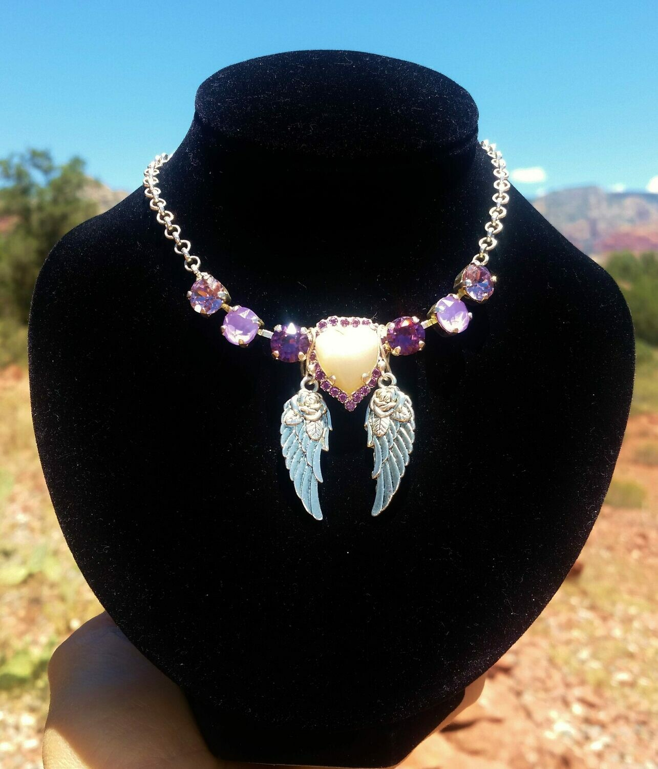 Sedona  Hearts of Mother Earth Gaia/Sophia Rose Priestess & Violet Ray Healer Angels  $244.00/444.00
