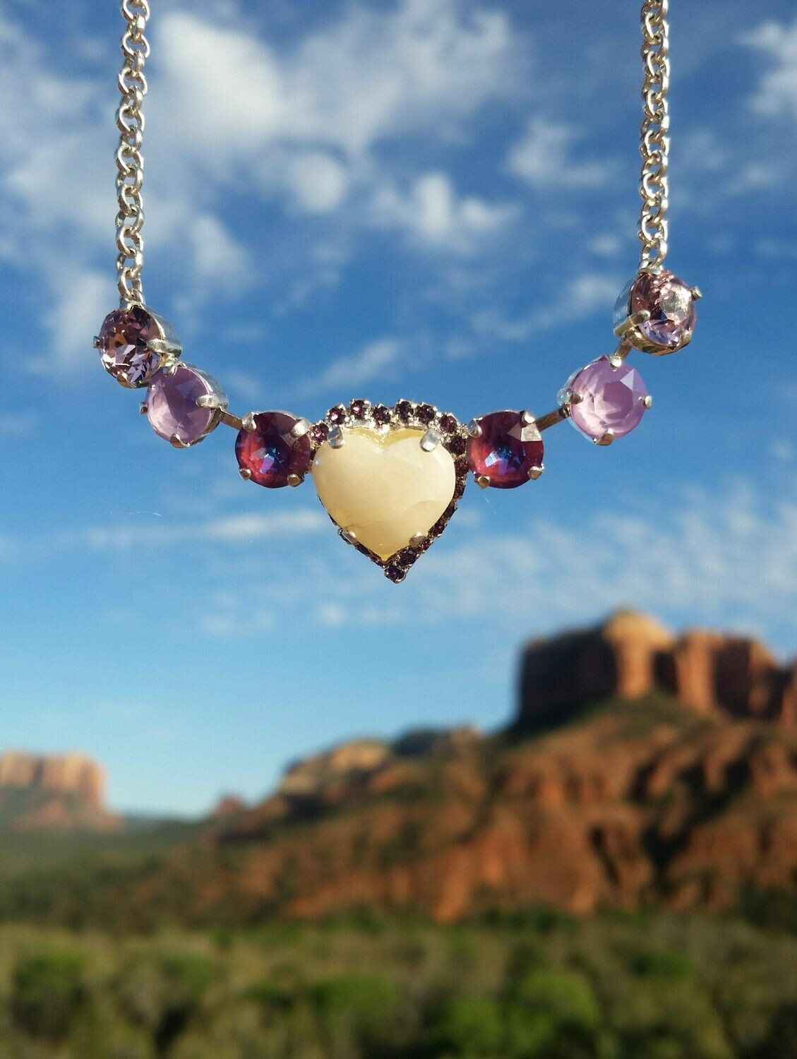 Sedona Sophia Hearts of Mother Earth Gaia Violet  & Pink Ray Healer  Priestess $244.00/$444.000 {Light Workers sale}