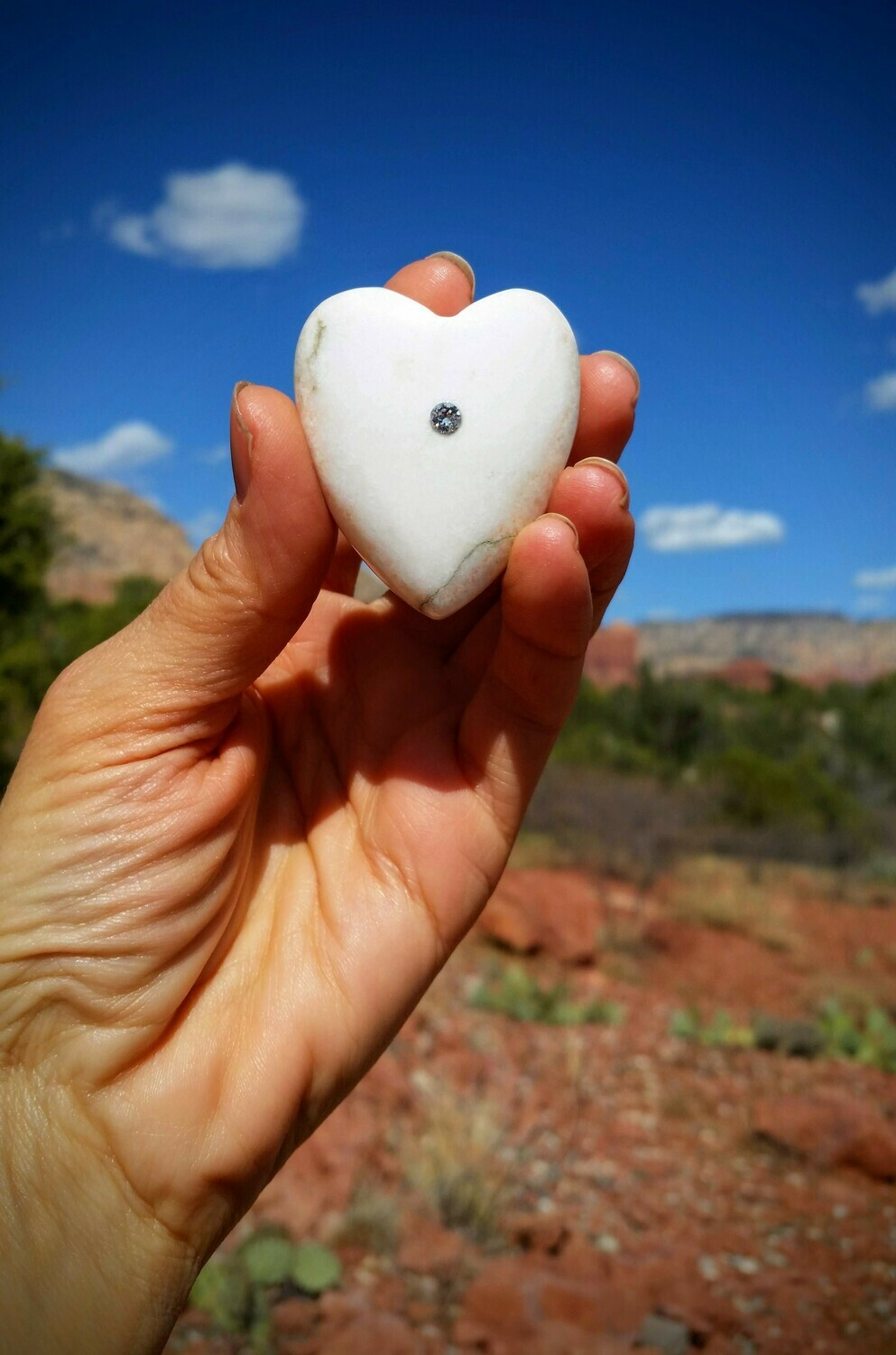 White Light  Holding Heart Healer Sedona Crystal Ascended Masters  & Golden Ray of LOVE