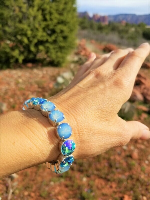Devic Crystal LOVE Technology Bracelets/Sirens Songs of the Blue Mermaid $88.00/$133.00  Mer Angel Retreat Sale