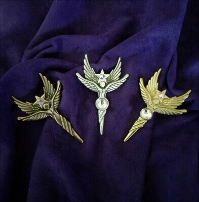 Sedona Angel Star Gold Copper/Rare golden vortex crystal sale/$244.00/Retreat Angel sale/$233.00/288.00