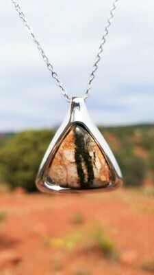 {Sedona Pyramid Ancient Earth Power} Serpentine Fairy Crystal Stone /$213/299.00