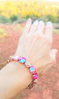 Devic Crystal LOVE Technology Bracelets/Sister of the Sacred Rose & Priestess $120.00/ $144.00 retreat sale