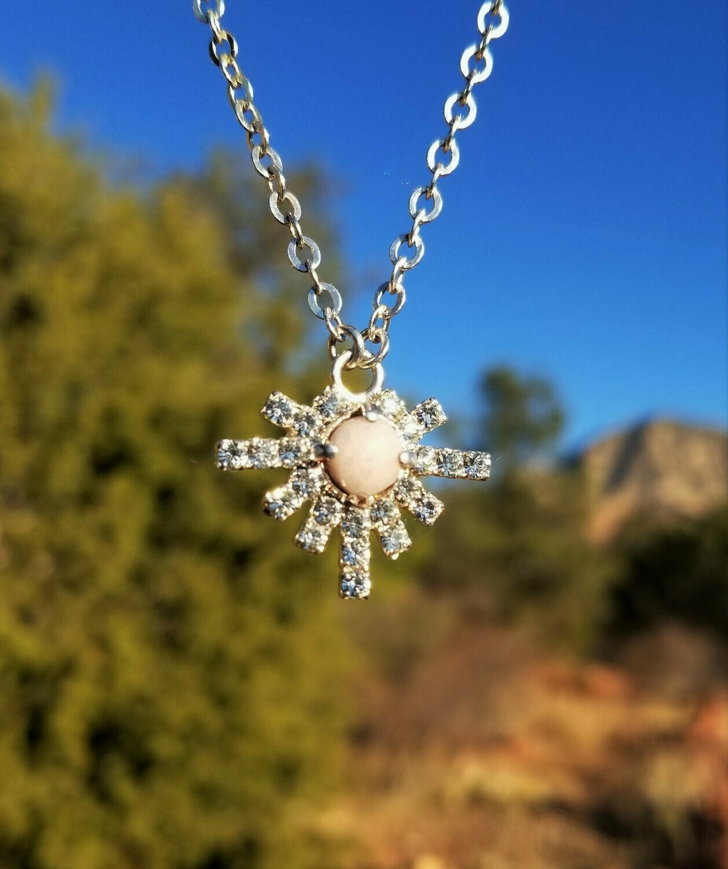 Higher Self Star Sedona White light Crystal Silver/$199/244