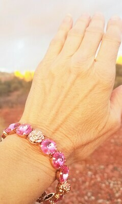 Beautiful Sisters of the Sacred Rose Priestess/Devic Crystal LOVE Technology Bracelets $122.00/ $144.00 retreat sale