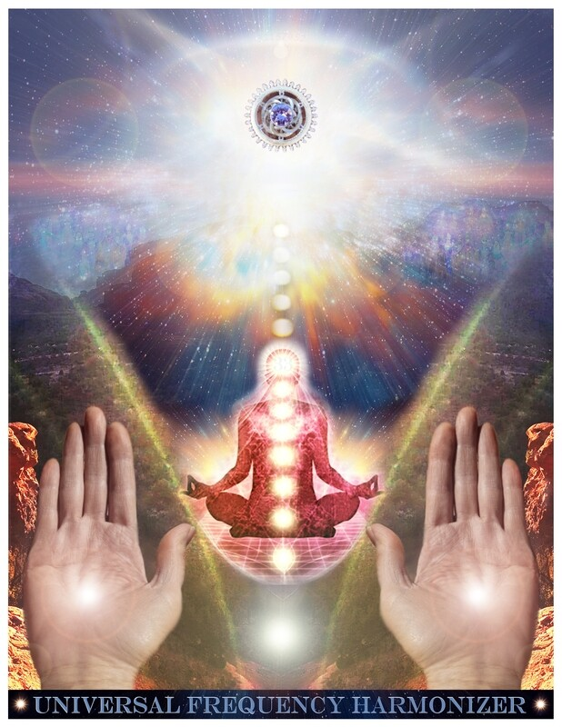 Universal Frequency Harmonizer Sacred Technology ~Holy Sun Tones meditation Activation, Activator & Crystal Grid ~Direct Download Sale $15/$22.