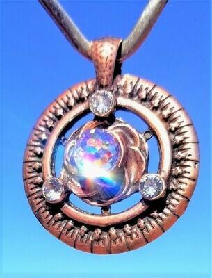 Crystal World Grid Universal Heart/Frequency Harmonizer Pendant Sale 288.00/$313